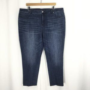 CHICO'S   So Slimming Ankle Jean Plus 18
